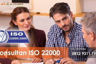 ISO 22000 – Sistem Manajemen Keamanan pangan