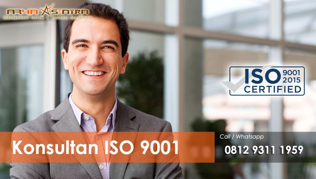 ISO 9001- Konsultan ISO 9001 Murah dan BERGARANSI